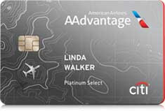 Citi / AAdvantage Platinum Select card